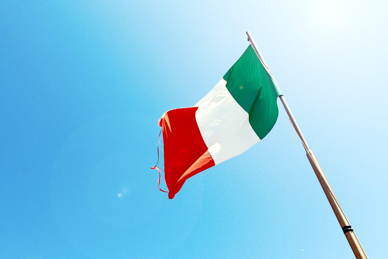 Bandeira Itália